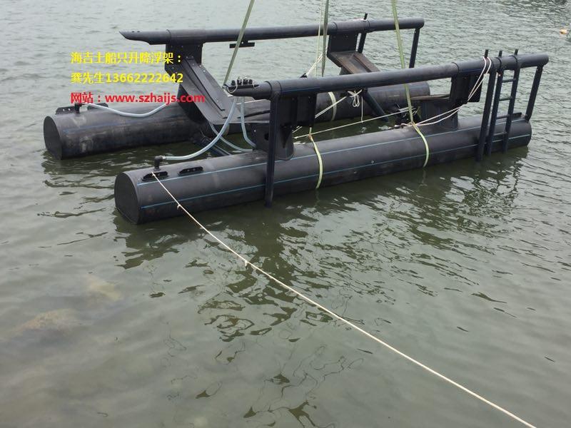为了宝艇,选择使用海吉士浮架