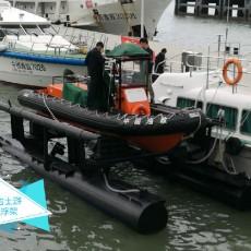 渔政船浮架