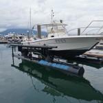 途达游艇与海吉士浮架